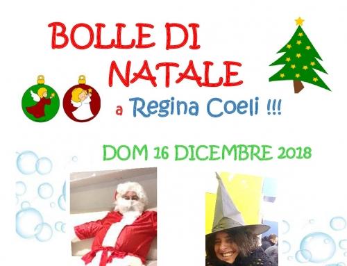 Bolle di Natale a Regina Coeli