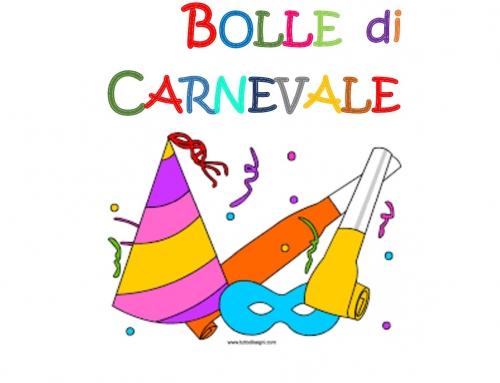 BOLLE DI CARNEVALE REGINA COELI